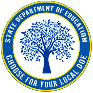 High School Department of Education Seal