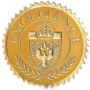 High School Gold Excellence Seal