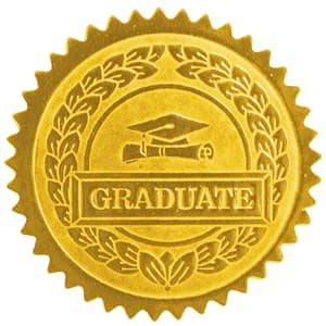 High School Gold Graduate Seal