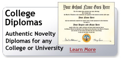 fake college diplomas