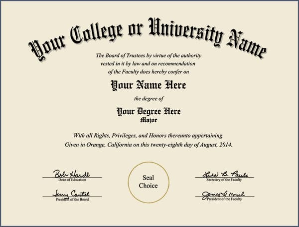 College Diploma - Design 3 COLLEGE_DIPLOMA_ND_03