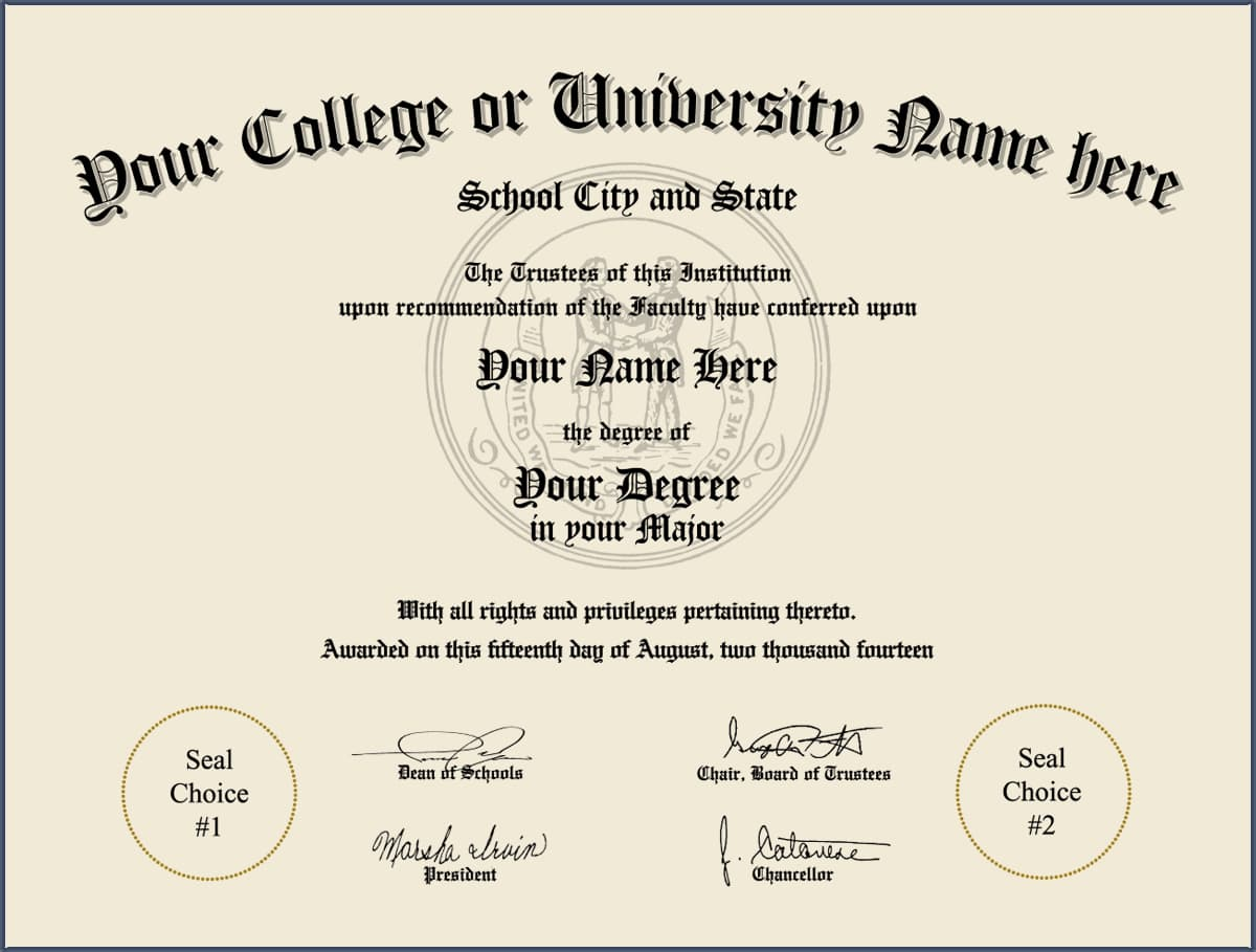 College Diploma - Design 4 COLLEGE_DIPLOMA_ND_04