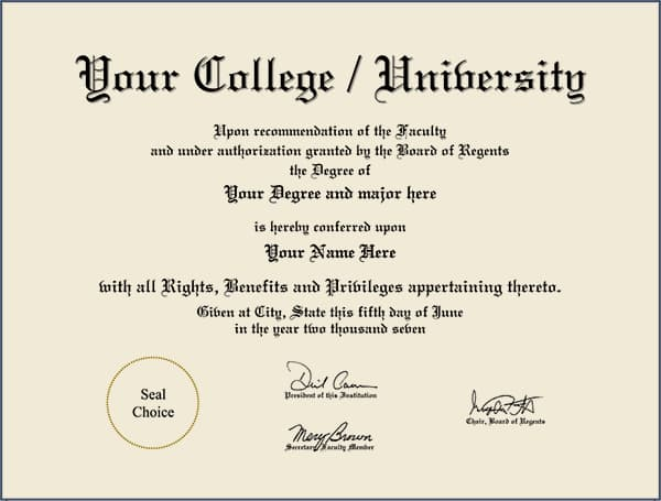 College Diploma - Design 5 COLLEGE_DIPLOMA_ND_05